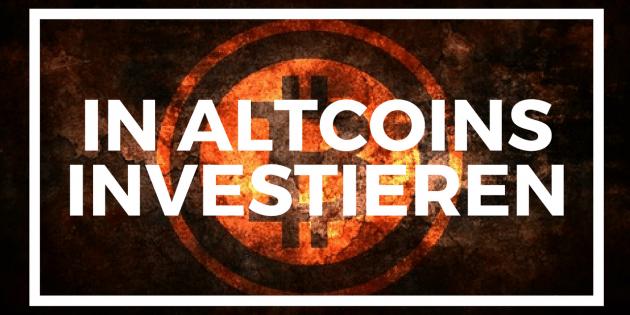 In Altcoins investieren