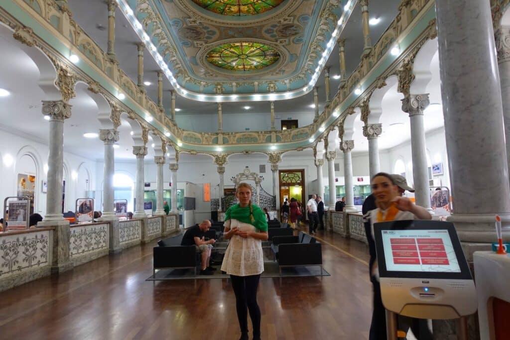 Bankfiliale in Georgien